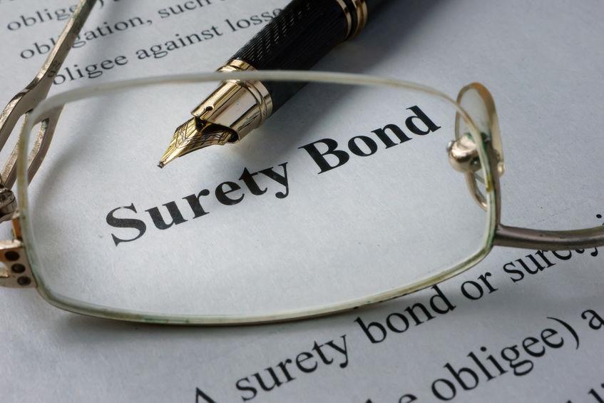 surety bond vs cash bond